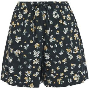 See By Chloé Green and Yellow Floral-print short